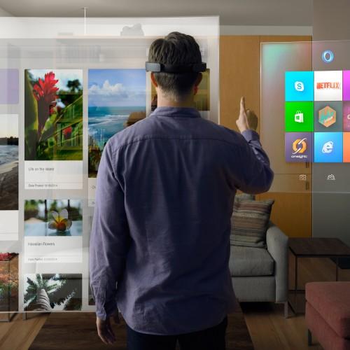 Die HoloLens – ein Blick in die augmented Future